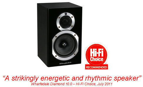 Great Wharfedale Diamond 10.0 Review in Hi Fi Choice